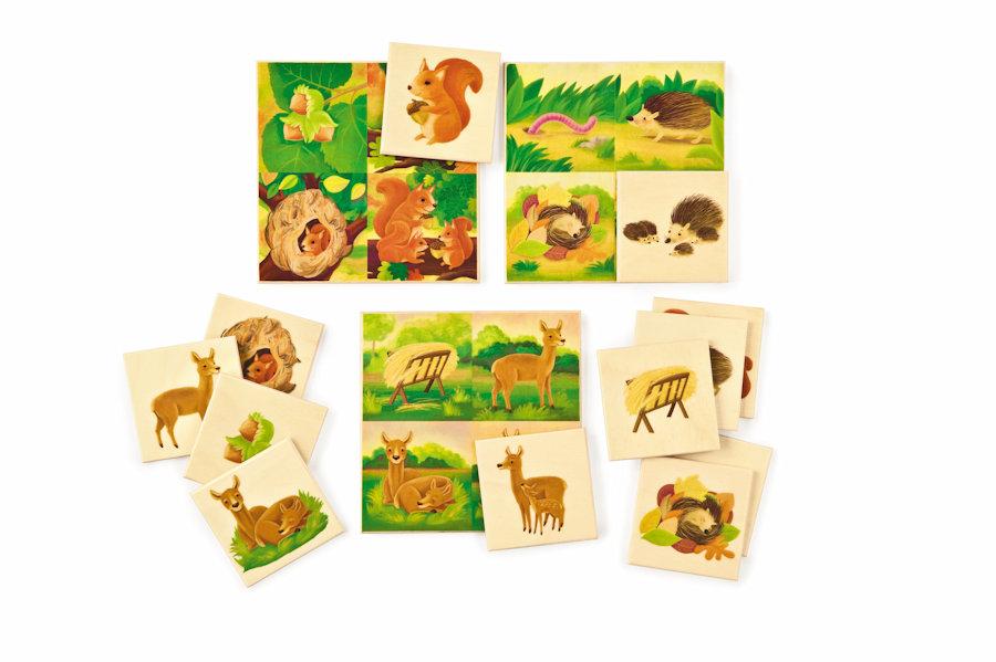 jeu de memorisation loto des animaux de selecta par ludesign ludomania. Black Bedroom Furniture Sets. Home Design Ideas