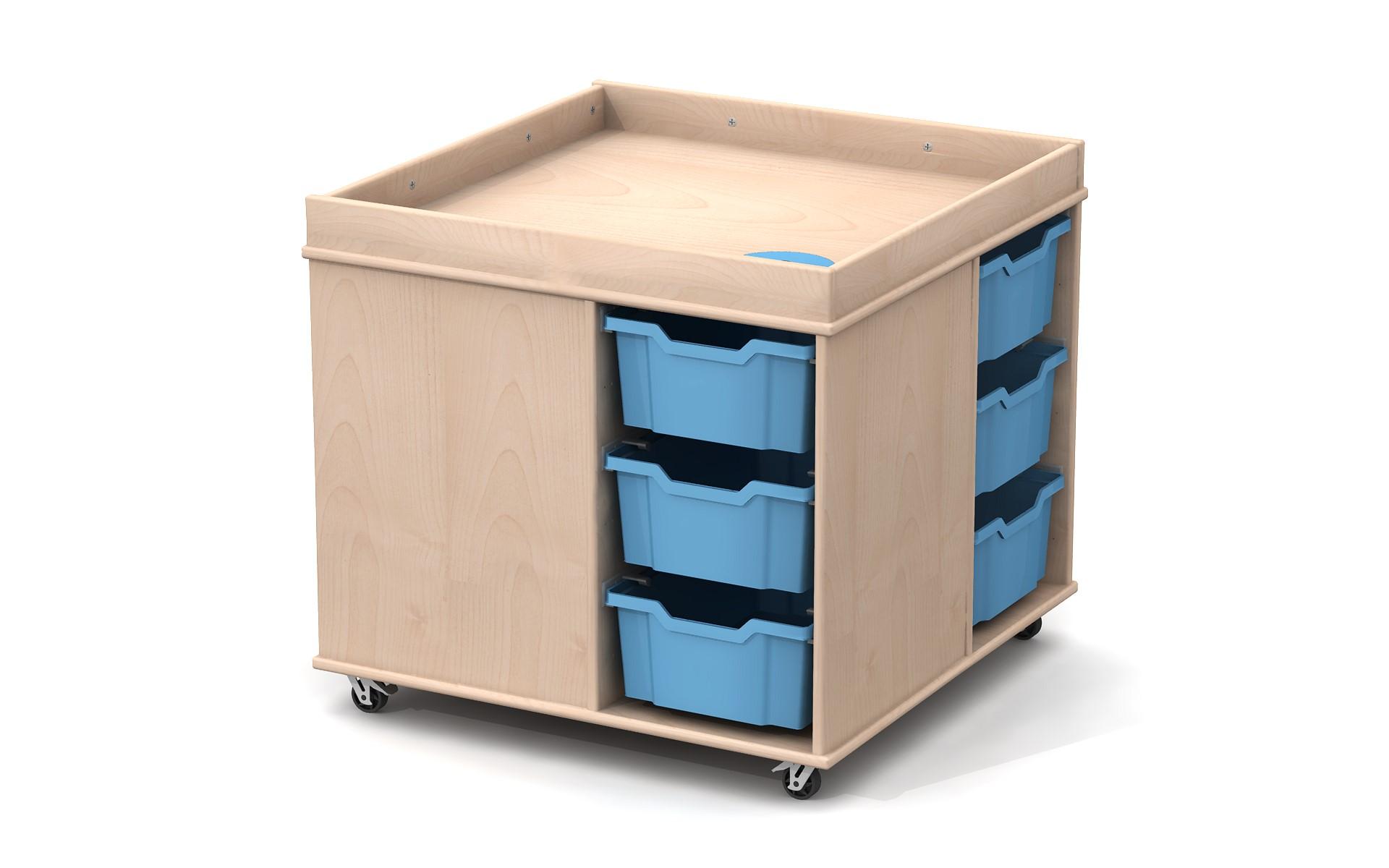 table de manipulation multifonctions par ludesign ludesign. Black Bedroom Furniture Sets. Home Design Ideas